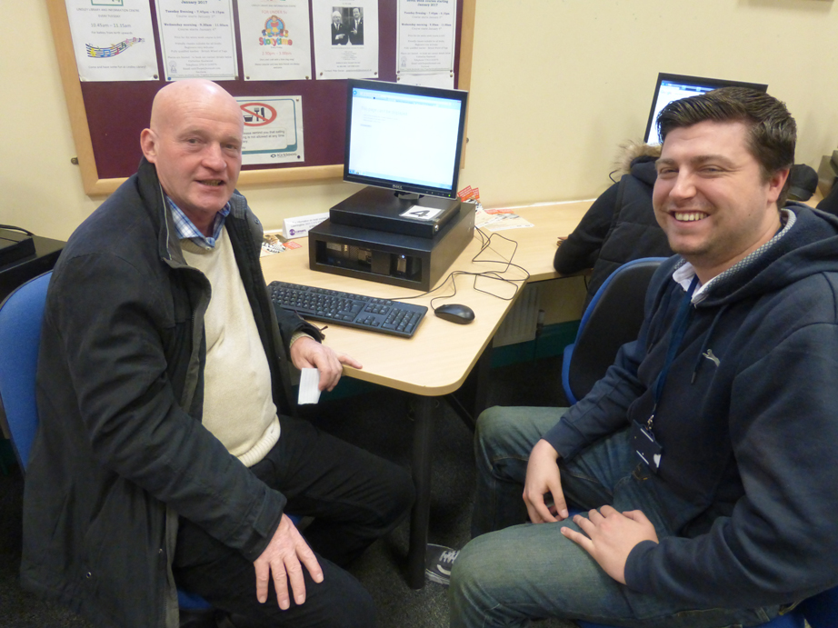 Digital Drop in Clinics at Lindley Library